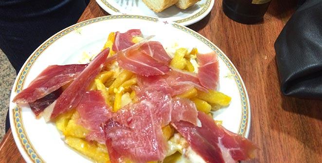 Tapa Restaurante el Valle